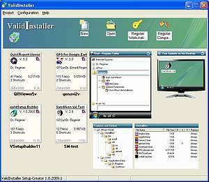 Screenshot vom Programm: ValidInstaller